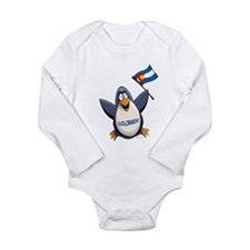 Colorado Penguin Long Sleeve Infant Bodysuit
