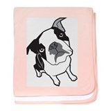 Boston Terrier Infant Blanket
