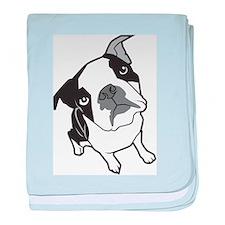 Boston Terrier Infant Blanket