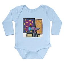 Astronomy Long Sleeve Infant Bodysuit