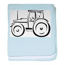 Farm Tractor Infant Blanket