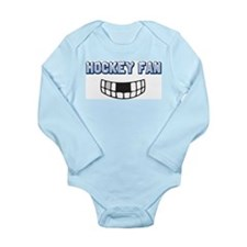 Hockey Fan Long Sleeve Infant Bodysuit