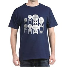 USS Enterprise History T-Shirt