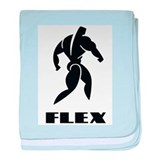 Body Building Infant Blanket