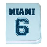 Miami 6 Infant Blanket