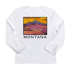 Montana Farm Long Sleeve Infant T-Shirt