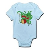 Octopus Drummer Infant Bodysuit