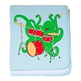 Octopus Drummer Infant Blanket