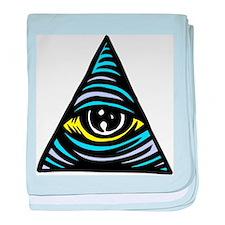 Eye of Providence Infant Blanket