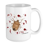 Stink Bug Large Mug
