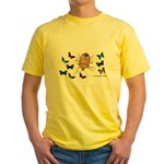Stink Bug Yellow T-Shirt
