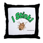 Stink Bug Throw Pillow