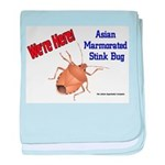 Stink Bug Infant Blanket