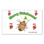 Stink Bug Sticker (Rectangle)
