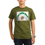 Stink Bug Organic Men's T-Shirt (dark)