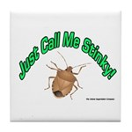 Stink Bug Tile Coaster