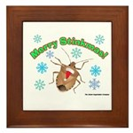 Stink Bug Framed Tile