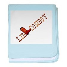 Little Cowboy Infant Blanket