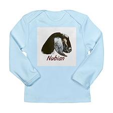 Goat-Nubian-Crystal Long Sleeve Infant T-Shirt