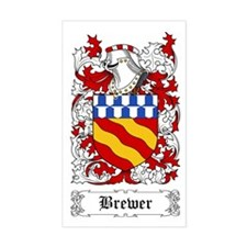 Brewer Sticker (Rectangular)