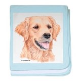 Golden Retriever Infant Blanket