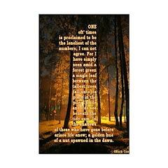 Oneness Mini Poster (11x17)