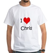 I Love Chris Shirt