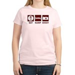 Eat Sleep Shoot Women's Light T-Shirt