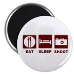 Eat Sleep Shoot Magnet