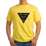 Maple Shade Police Yellow T-Shirt