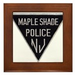 Maple Shade Police Framed Tile