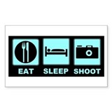 Eat Sleep Shoot Decal