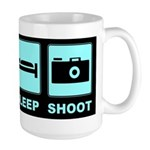 Eat Sleep Shoot Large Mug