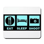 Eat Sleep Shoot Mousepad