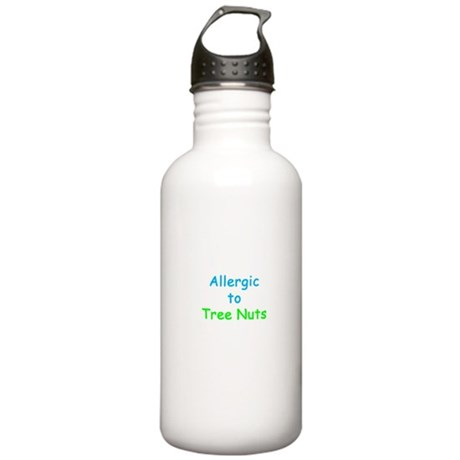 Allergic To Tree Nuts Stainless Water Bottle 1.0L