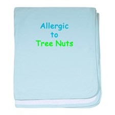 Allergic To Tree Nuts Infant Blanket