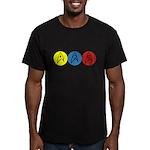 Star Trek Insignia Men's Fitted T-Shirt (dark)