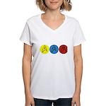 Star Trek Insignia Women's V-Neck T-Shirt