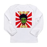 ZOMBIE-BRAINS-SMILE Long Sleeve Infant T-Shirt
