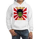 ZOMBIE-BRAINS-SMILE Hooded Sweatshirt