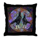 Shamo Circle Throw Pillow
