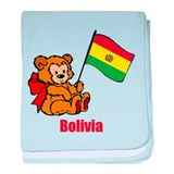 Bolivia Teddy Bear Infant Blanket