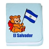 El Salvador Teddy Bear Infant Blanket