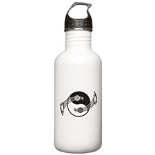 Yin Yang Guitar Basics Water Bottle