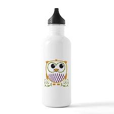 Cute Owl Water Bottle