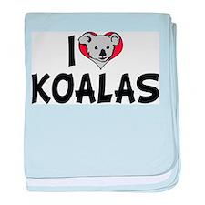 I Love Koalas Infant Blanket
