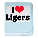 I Love Ligers Infant Blanket