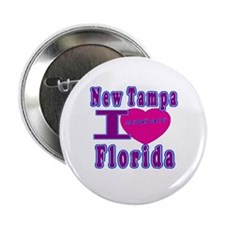 "New Tampa Florida 33647 2.25"" Button (100 pack)"