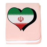 I Love Iran Infant Blanket