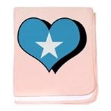 I Love Somalia Infant Blanket